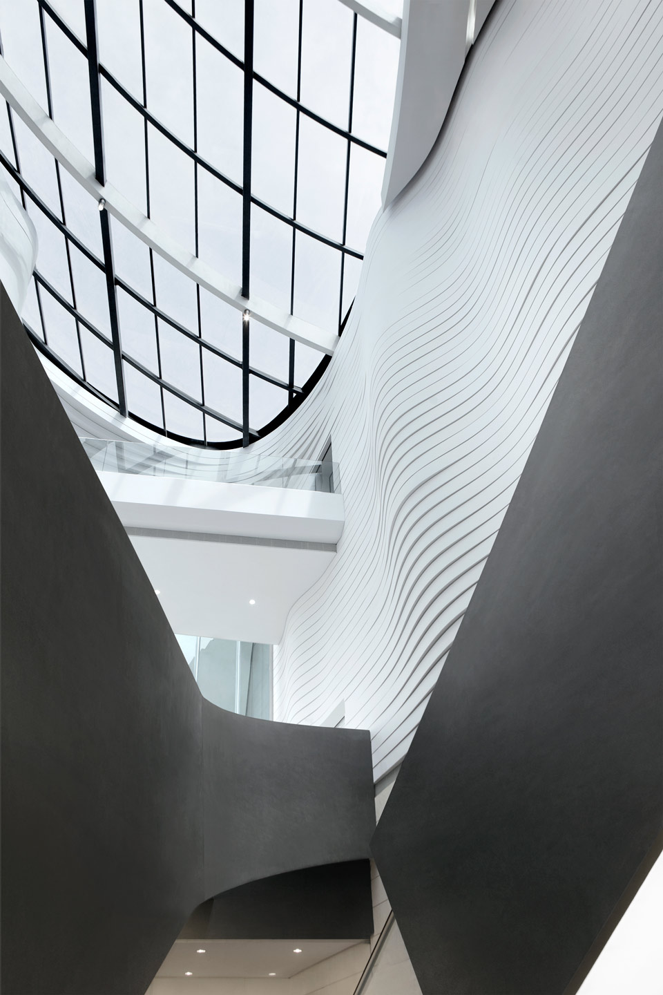 waa Museum of Contemporary Art Yinchuan interior close up 未觉建筑 银川当代美术馆 室内 特写