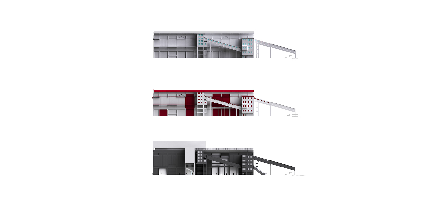 waa Museum of Contemporary Art WestBund renovation street view 未觉建筑 西岸当代美术馆 改造