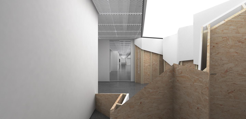 waa Office fitout 未觉建筑 某事务所办公室 室内设计