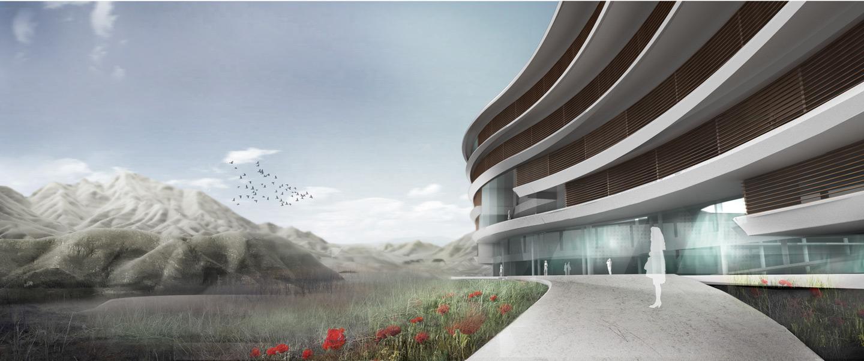 waa The Valley Resort Beijing unconstructed 未觉建筑 北京渔山国际温泉度假村 未建成