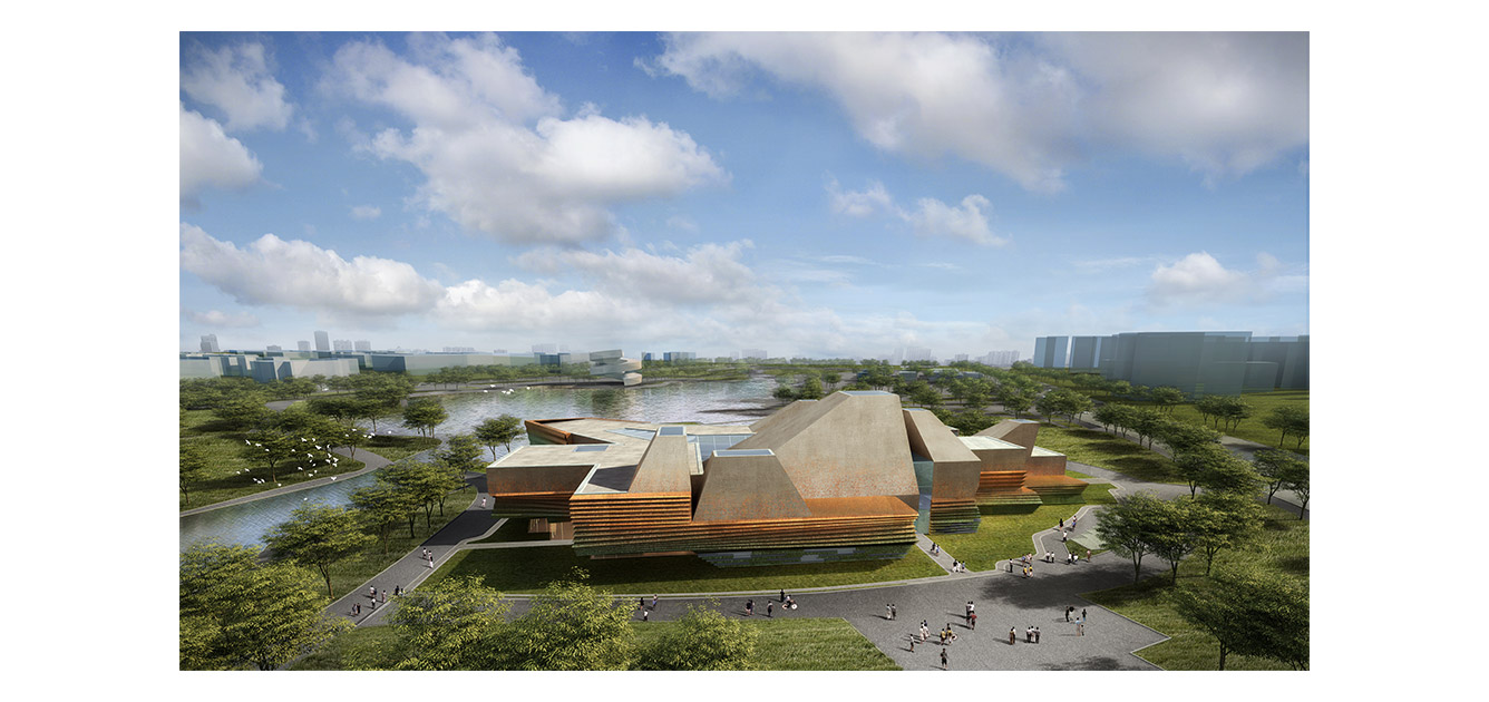 waa Tongling City Exhibition Hall Competition 未觉建筑 铜陵城市 展览馆 中标