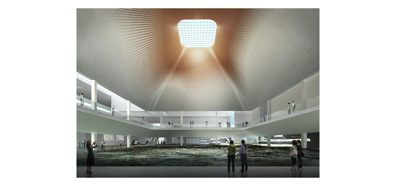 waa Tongling City Exhibition hall competition 未觉建筑 铜陵 城市展览馆 中标