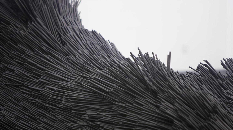 waa installation thatching 未觉建筑 装置艺术 7万根吸管编织
