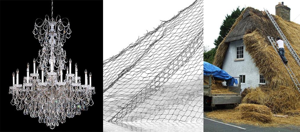 waa installation thatching 未觉建筑装置艺术7万根吸管编织