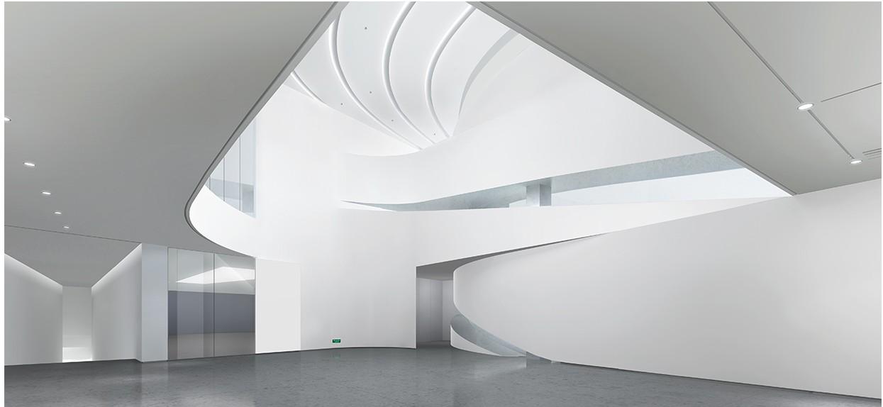 waa museum contemprorary art moca yinchuan interior 未觉建筑 银川当代美术馆 室内设计