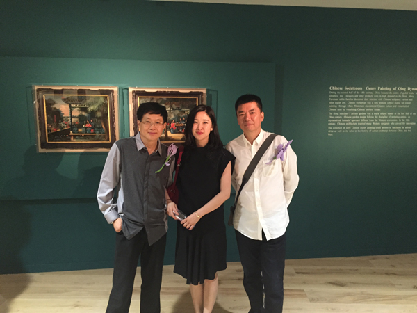 At MOCA Yinchuan Opening exhibition on the 8th August 2015